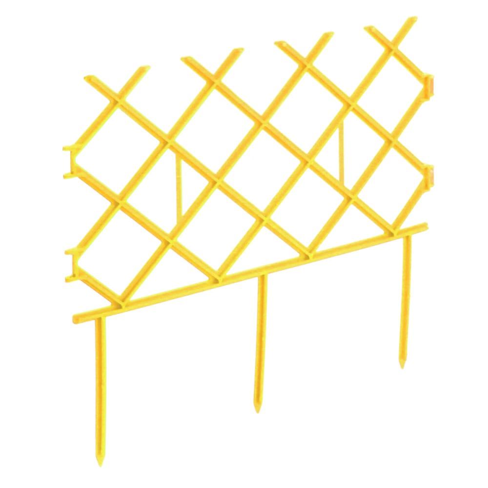 Купить Декоративный забор комплект-агро палисад 19х285см, желтый ka1193y