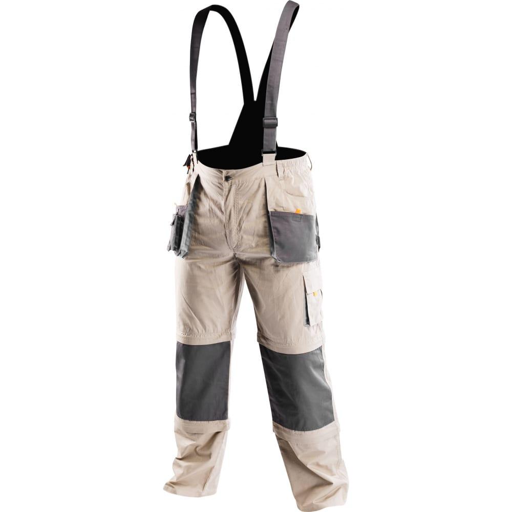 Рабочий полукомбинезон 6 в 1 neo p.xxl/58 81-320-xxlРабочие комбинезоны и брюки<br>Тип: мужской полукомбинезон ;<br>Цвет: темно-серый/серый ;<br>Ткань: 100% хлопок ;<br>Состав ткани: 100% хлопок ;<br>Плотность ткани: 180 г/кв.м;<br>Размер: 58 ;<br>Рост: 194-200 см;<br>Световозвращающая полоса: нет ;<br>Тип застежки: молния ;<br>ГОСТ\ТУ: EN ISO 13688:2013 ;<br>Единиц в упаковке: 1 шт.;<br>Вес модели: 0.876 кг;<br>Защитные свойства: от общих загрязнений ;<br>Международный размер: XXXL (56-58) ;<br>Костюм маляра: нет ;