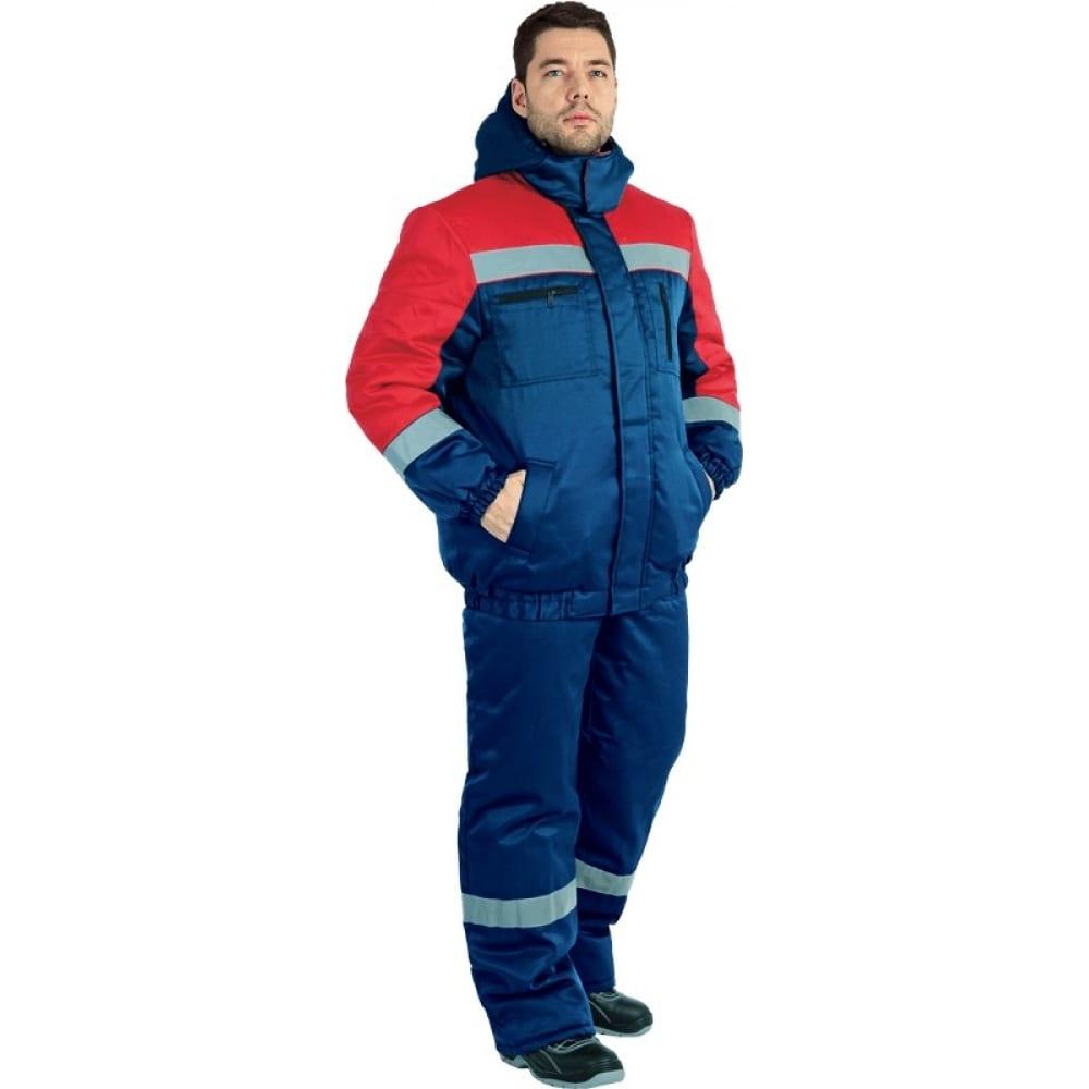 Утепленный костюм гк спецобъединение байкал темно-синий/красный, размер 96-100, рост 170-176 кос 311/ 96/170Рабочие костюмы<br>Ткань: смесовая ;<br>Утеплитель: синтепон ;<br>Max температура: -18 °C;<br>Состав ткани: 20% - хлопок, 80% - полиэфир ;<br>Плотность ткани: 210 г/кв.м;<br>Размер: 48-50 ;<br>Рост: 170-176 см;<br>Пропитка: водоотталкивающая ;<br>Капюшон: есть ;<br>Тип застежки: молния ;<br>Цвет: темно-синий/красный ;<br>ГОСТ\ТУ: ГОСТ Р 12.4.236-2011 ;<br>Вес: 2 кг;<br>Международный размер: M (48-50) ;<br>Сигнальный: нет ;<br>Светоотражающие элементы: есть ;<br>Единиц в упаковке: 1 шт.;<br>Защитные свойства: от пониженных температур ;