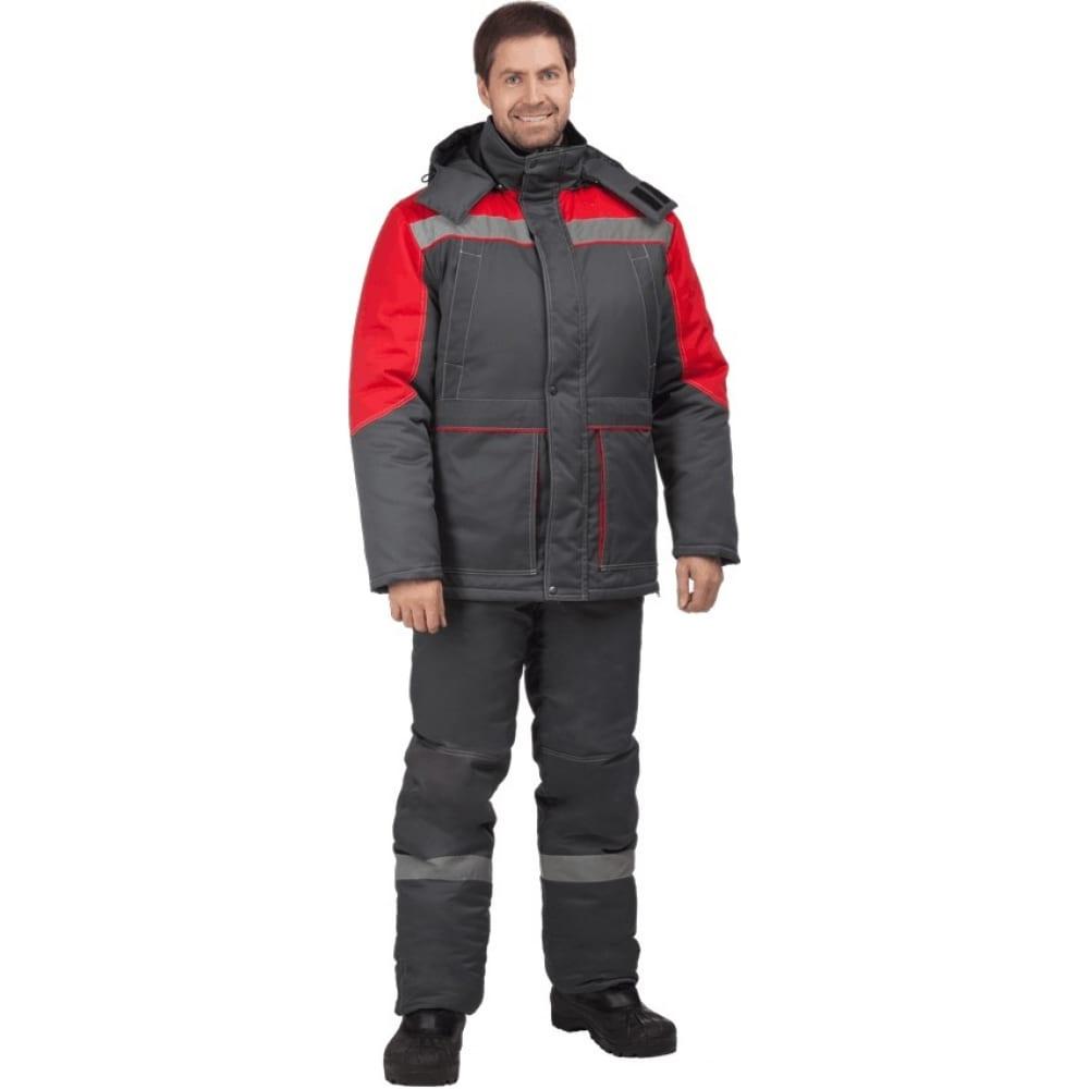 Утепленный костюм гк спецобъединение енисей серый-красный, размер 104-108, рост 182-188 кос 689/104/182Рабочие костюмы<br>Вес: 3 кг;<br>Тип: мужской с полукомбинезоном ;<br>Цвет: серый-красный ;<br>Max температура: -41 °C;<br>Ткань: Наутика Concordia Textiles ;<br>Состав ткани: 100% полиамид ;<br>Плотность ткани: 135 г/кв.м;<br>Размер: 52-54 ;<br>Рост: 182-188 см;<br>Пропитка: Teflon ;<br>Капюшон: есть ;<br>Тип застежки: молния ;<br>ГОСТ\ТУ: ГОСТ Р 12.4.236-2011 ;<br>Единиц в упаковке: 1 шт.;<br>Защитные свойства: от пониженных температур ;<br>Утеплитель: слайтекс ;<br>Международный размер: XL (52-54) ;<br>Светоотражающие элементы: есть ;<br>Сигнальный: нет ;