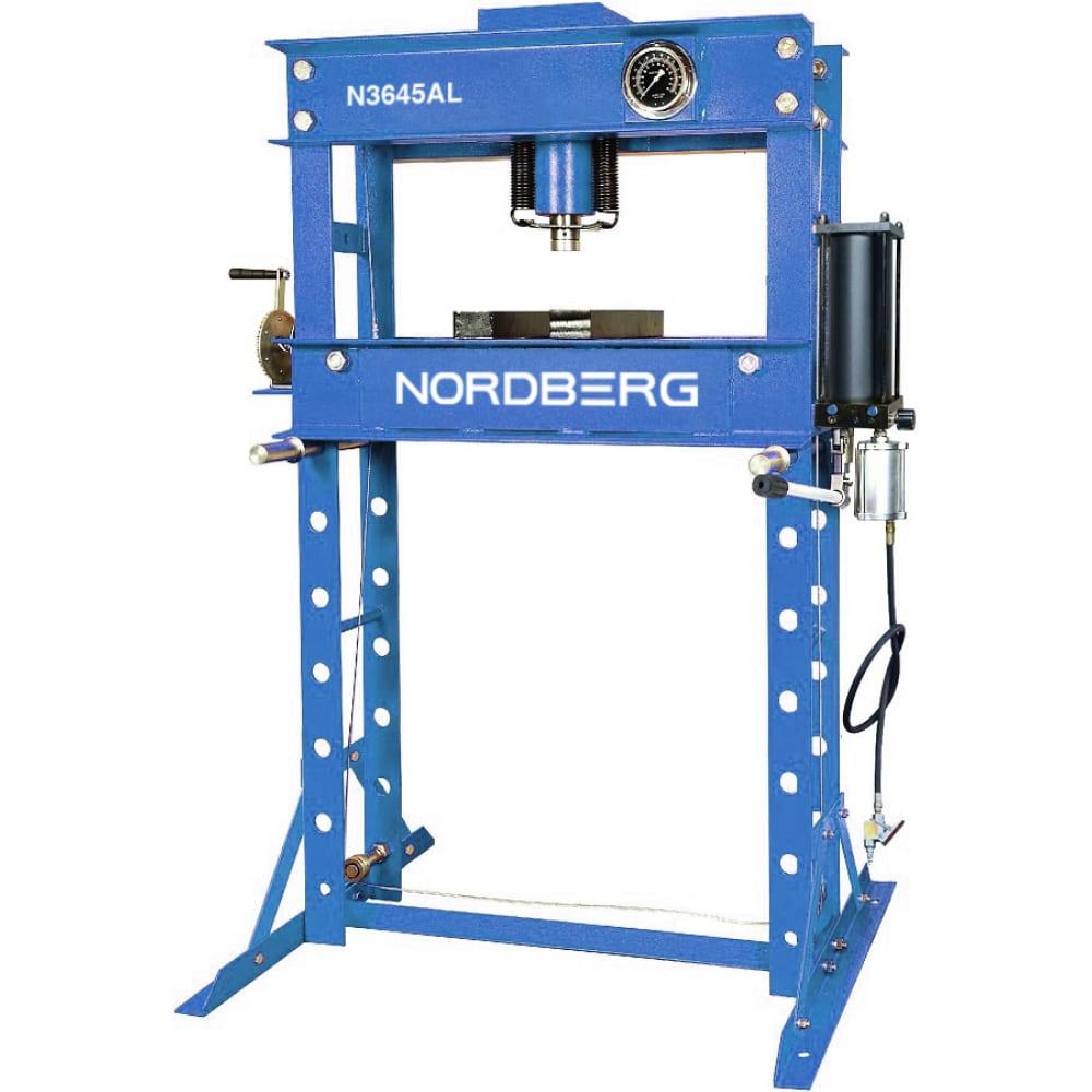 Купить Гидравлический пресс nordberg eco n3645al 45т пневмопривод