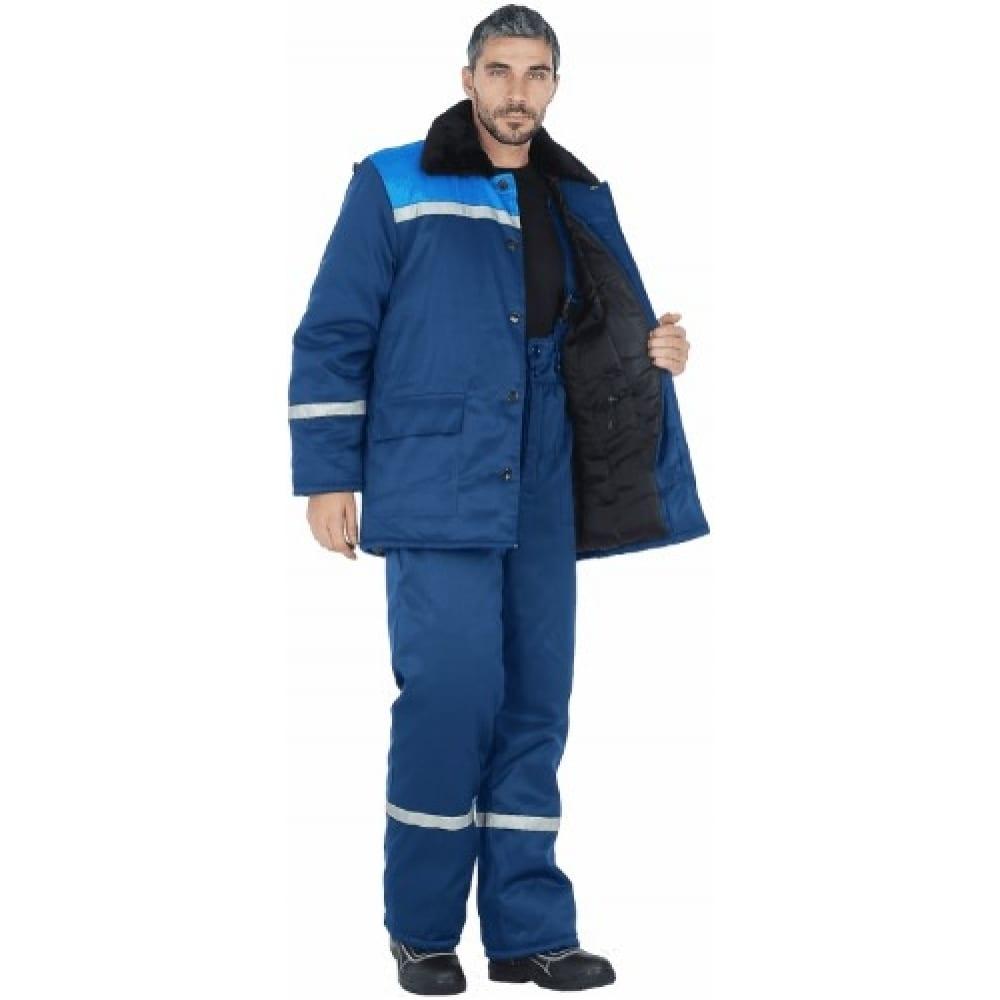 Утепленный костюм гк спецобъединение метелица темно-синий/василёк, р. 128-132, рост 194-200 кос 306/128/194Рабочие костюмы<br>Тип: мужской брючный ;<br>Цвет: темно-синий/васильковый ;<br>Max температура: -18 °C;<br>Ткань: смесовая ;<br>Состав ткани: 20% хлопок, 80% полиэфир ;<br>Плотность ткани: 210 г/кв.м;<br>Размер: 64-66 ;<br>Рост: 194-200 см;<br>Пропитка: водоотталкивающая ;<br>Капюшон: есть ;<br>Тип застежки: пуговицы ;<br>ГОСТ\ТУ: ГОСТ Р 12.4.236-2011 ;<br>Единиц в упаковке: 1 шт.;<br>Защитные свойства: от пониженных температур ;<br>Утеплитель: синтепон ;<br>Международный размер: 7ХL (64-66) ;<br>Светоотражающие элементы: есть ;<br>Сигнальный: нет ;