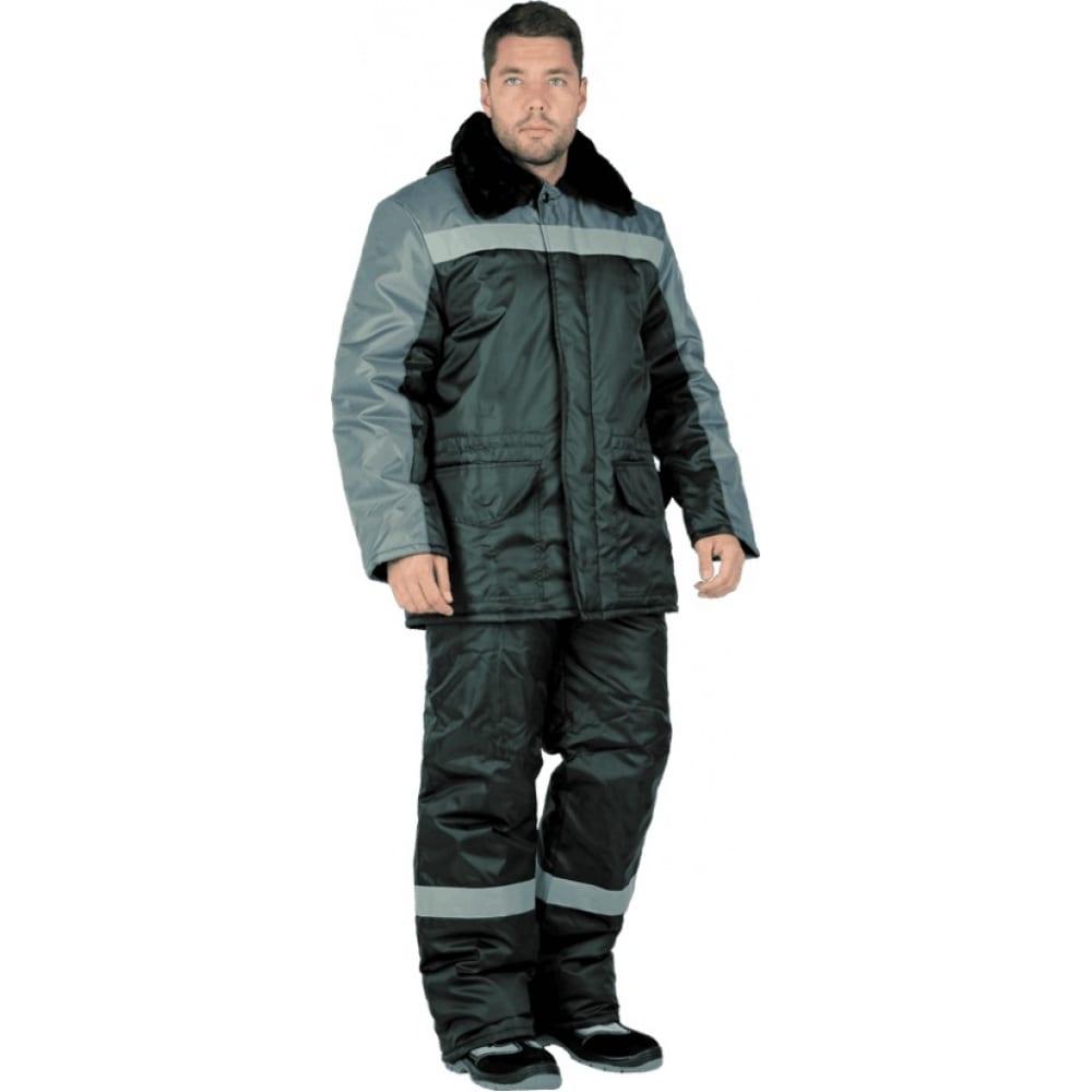 Утепленный костюм гк спецобъединение регион черный-серый, размер 104-108, рост 182-188 кос 308/104/182Рабочие костюмы<br>Тип: мужской брючный ;<br>Ткань: оксфорд ;<br>Утеплитель: синтепон ;<br>Max температура: -18 °C;<br>Состав ткани: 100% полиэфир ;<br>Плотность ткани: 110 г/кв.м;<br>Размер: 52-54 ;<br>Рост: 182-188 см;<br>Пропитка: водоотталкивающая ;<br>Капюшон: есть ;<br>Тип застежки: пуговицы ;<br>Цвет: черный/серый ;<br>ГОСТ\ТУ: ГОСТ Р 12.4.236-2011 ;<br>Вес: 1.8 кг;<br>Международный размер: XL (52-54) ;<br>Сигнальный: нет ;<br>Светоотражающие элементы: есть ;<br>Единиц в упаковке: 1 шт.;<br>Защитные свойства: от пониженных температур ;