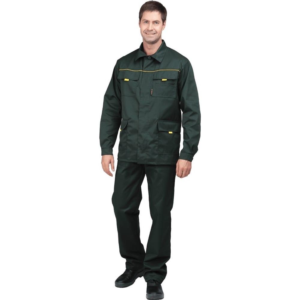 Костюм гк спецобъединение вымпел-1 зелёный, размер 104-108, рост 182-188 кос 522/104/182Рабочие костюмы<br>Тип: мужской брючный ;<br>Цвет: зеленый ;<br>Ткань: смесовая ;<br>Состав ткани: 53% - хлопок; 47% - полиэфир ;<br>Плотность ткани: 220 г/кв.м;<br>Размер: 52-54 ;<br>Рост: 182-188 см;<br>Пропитка: водоотталкивающая ;<br>Световозвращающая полоса: нет ;<br>Капюшон: нет ;<br>Тип застежки: пуговицы ;<br>ГОСТ\ТУ: ГОСТ 12.4.280-2014 ;<br>Единиц в упаковке: 1 шт.;<br>Вес модели: 1 кг;<br>Защитные свойства: защита от общих производственных загрязнений, защита от истирания ;<br>Международный размер: XL (52-54) ;<br>Сигнальный: нет ;
