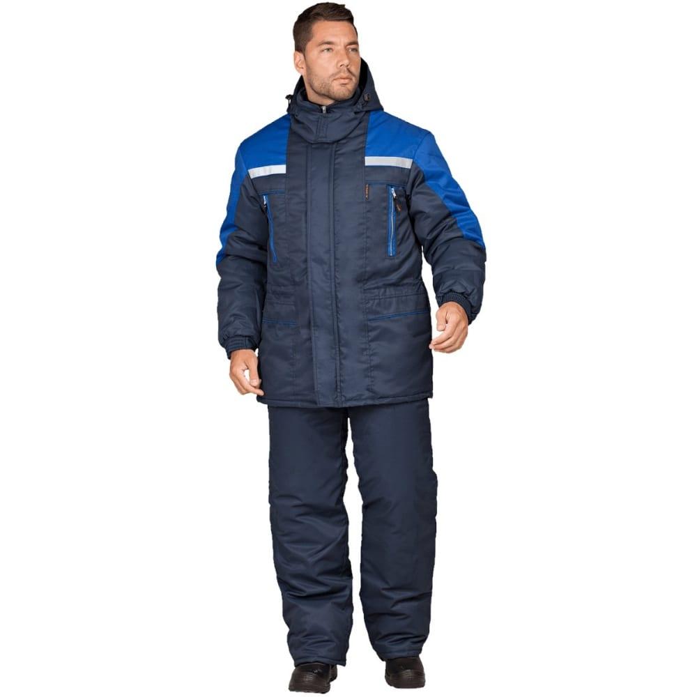 Утепленная куртка гк спецобъединение спец темно-синий/василёк, р.112-116, рост 170-176 кур 612/112/170Утепленные куртки<br>Тип: мужская ;<br>Ткань: смесовая ;<br>Состав ткани: 53% хлопок, 47% полиэфир ;<br>Утеплитель: климафорт ;<br>Плотность ткани: 220 г/кв.м;<br>Max температура: -18 °C;<br>Размер: 56-58 ;<br>Рост: 170-176 ;<br>Пропитка: водоотталкивающая ;<br>Капюшон: есть ;<br>Тип застежки: молния ;<br>ГОСТ\ТУ: ГОСТ Р 12.4.236-2011 ;<br>Вес: 1.6 кг;<br>Цвет: темно-синий/васильковый ;<br>Международный размер: XXXL (56-58) ;<br>Светоотражающие элементы: есть ;<br>Единиц в упаковке: 1 шт.;<br>Защитные свойства: от пониженных температур воздуха ;