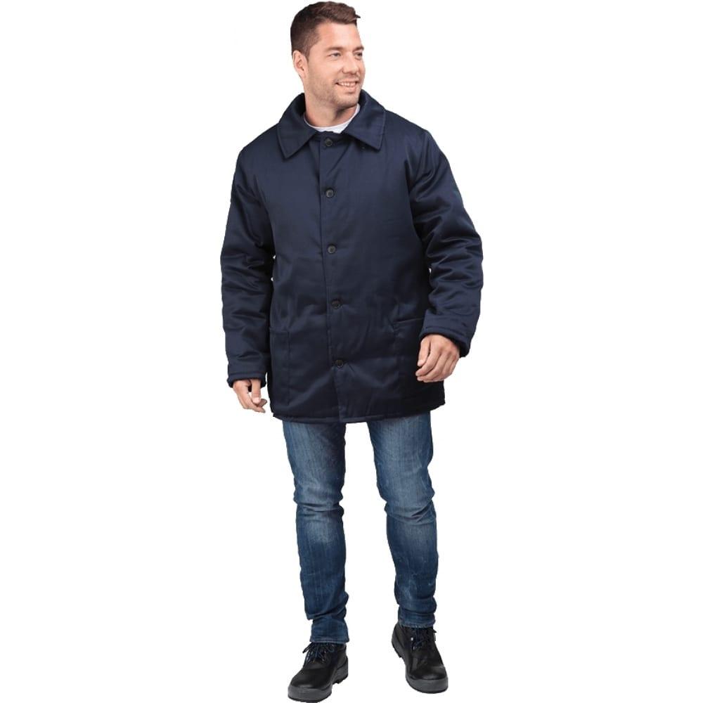 Купить Утеплённая куртка гк спецобъединение телогрейка темно-синяя, р.104-108, рост 182-188 кур 309/104/182