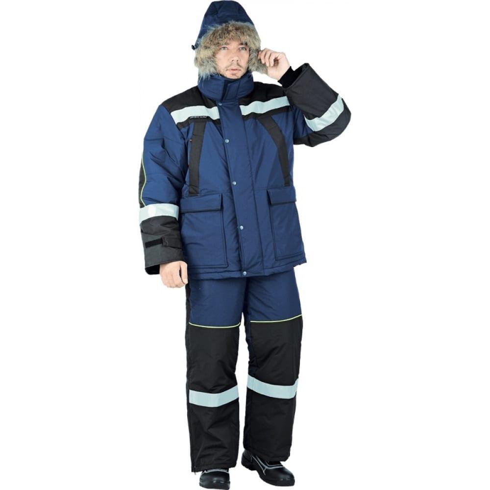 Утеплённый костюм гк спецобъединение ураган-ультра темно-синий/черный, размер 112-116, рост 182-188 кос 681/112/182Рабочие костюмы<br>Тип: мужской с полукомбинезоном ;<br>Ткань: Наутика Concordia Textiles ;<br>Утеплитель: шелтер ;<br>Max температура: -41 °C;<br>Состав ткани: 100% полиэфир ;<br>Плотность ткани: 135 г/кв.м;<br>Размер: 56-58 ;<br>Рост: 182-188 см;<br>Пропитка: нет ;<br>Капюшон: есть ;<br>Тип застежки: молния ;<br>Цвет: темно-синий/черный ;<br>ГОСТ\ТУ: ГОСТ Р 12.4.236-2011 ;<br>Вес: 4.5 кг;<br>Международный размер: XXXL (56-58) ;<br>Сигнальный: нет ;<br>Светоотражающие элементы: есть ;<br>Единиц в упаковке: 1 шт.;<br>Защитные свойства: от пониженных температур ;