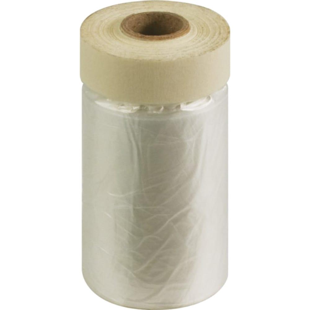 Купить Пленка укрывная с клейкой лентой (15 м; 2400 мм; 10 мкм) fit it 11869