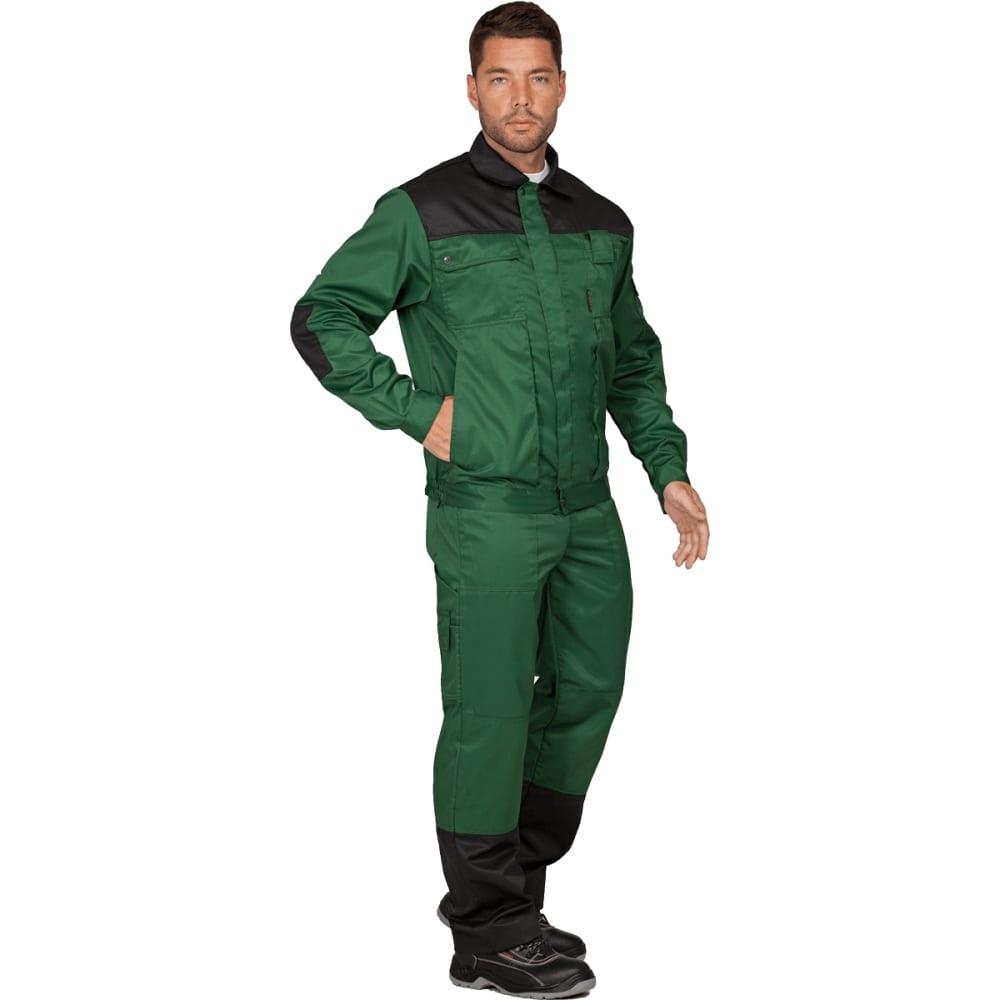 Костюм гк спецобъединение техник темно-зелёный/черный, р.120-124, рост 182-188 кос 505/120/182Рабочие костюмы<br>Тип: мужской с полукомбинезоном ;<br>Цвет: темно-зелёный/черный ;<br>Ткань: смесовая ;<br>Состав ткани: 53% хлопок, 47% полиэфир ;<br>Плотность ткани: 220 г/кв.м;<br>Размер: 60-62 (рост 182-188) ;<br>Рост: 182-188 см;<br>Пропитка: водоотталкивающая ;<br>Световозвращающая полоса: нет ;<br>Капюшон: нет ;<br>Тип застежки: молния ;<br>ГОСТ\ТУ: ГОСТ 12.4.280-2014 ;<br>Единиц в упаковке: 1 шт.;<br>Вес модели: 1.3 кг;<br>Защитные свойства: от общих производственных загрязнений, от истирания ;<br>Международный размер: 5XL (60-62) ;<br>Сигнальный: нет ;