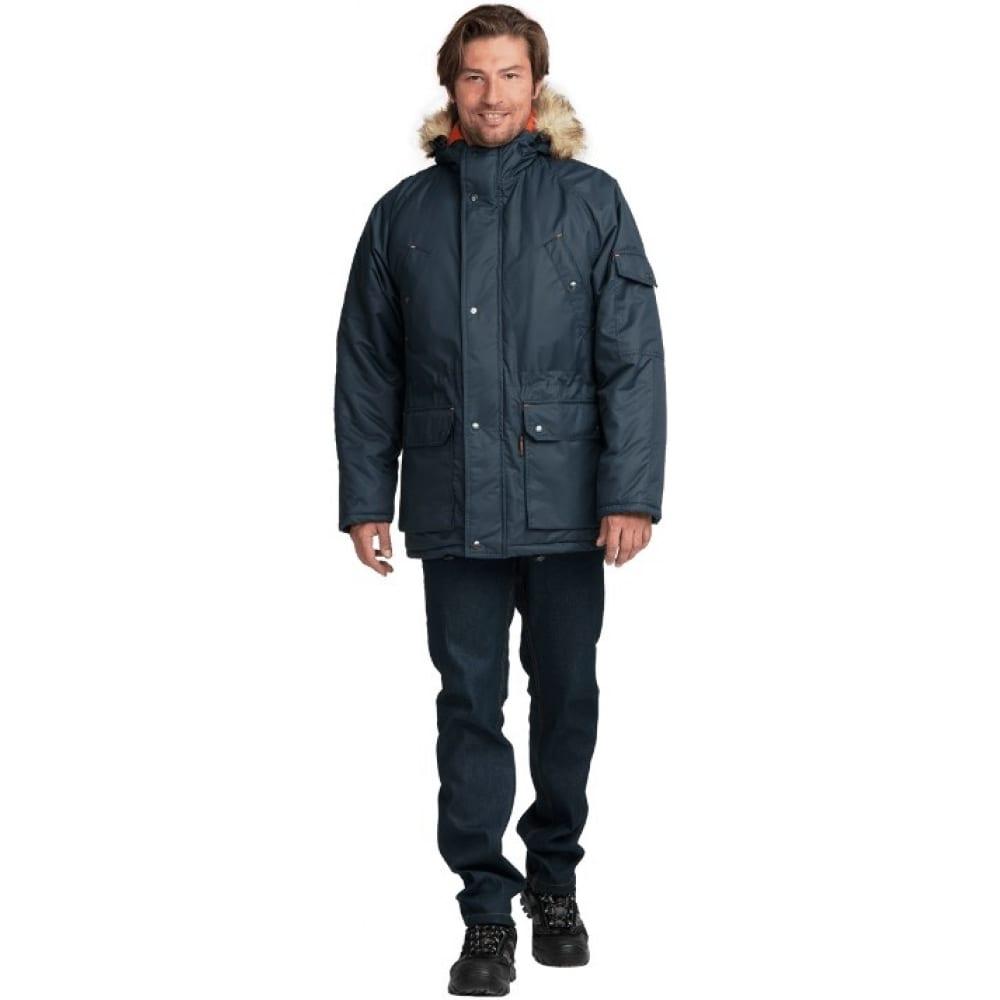 Купить Утепленная куртка гк спецобъединение аляска люкс синяя, р. 112-116, рост 170-176 кур 320/112/170
