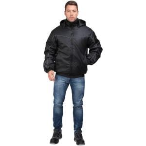 Утепленная куртка гк спецобъединение водитель черная, р. 120-124, рост 170-176 кур 615/120/170