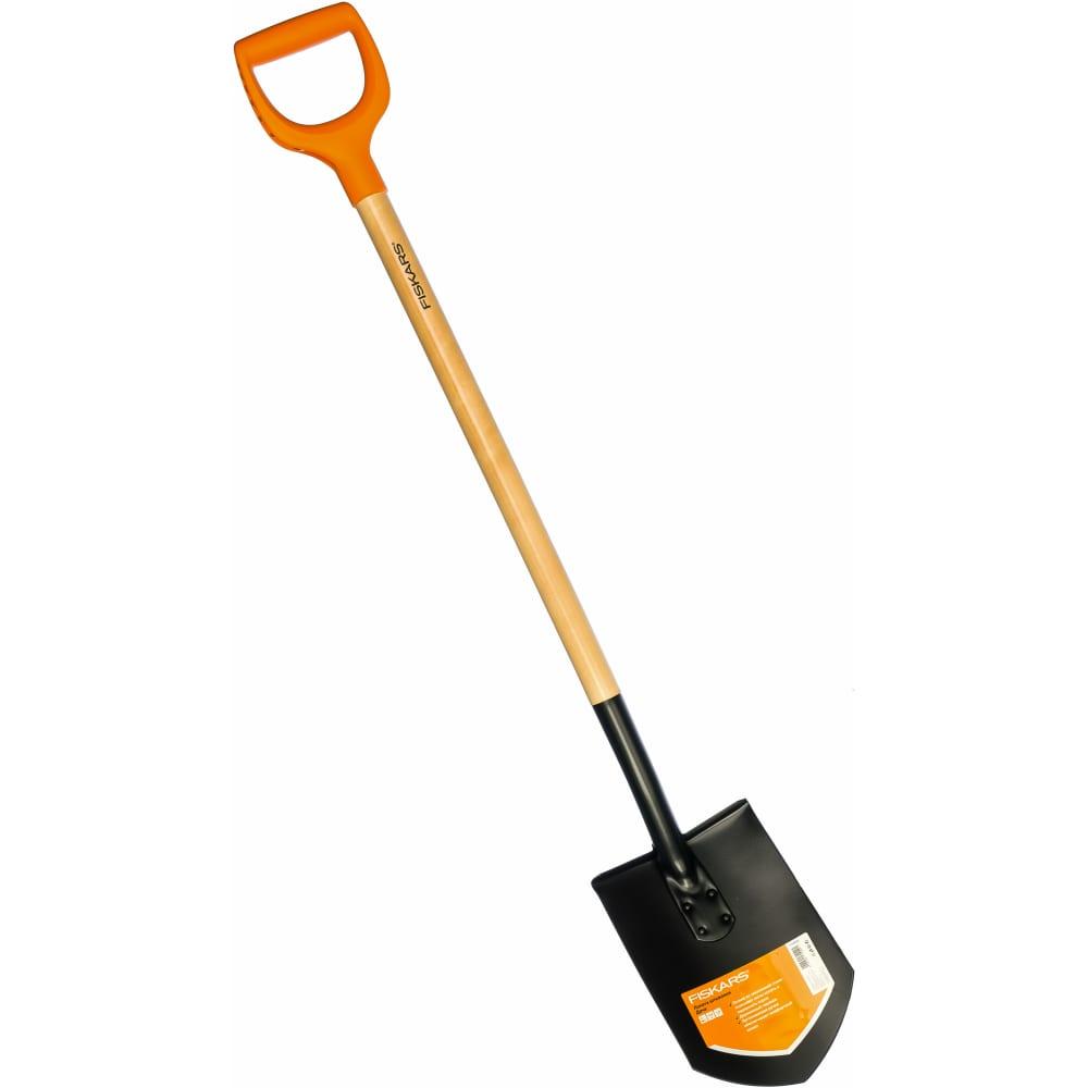 Штыковая лопата fiskars дача 1026660