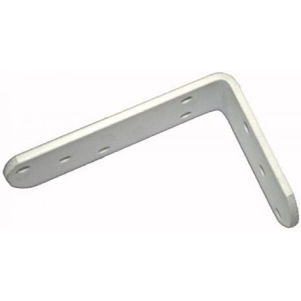 Бытовой белый кронштейн tech-krep 60*100*20*4.0 мм - накл. 127941  - купить со скидкой