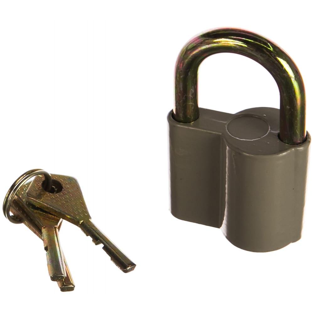 Купить Навесной замок курс корпус из алюминиевого сплава, стальная дужка 45мм 67014