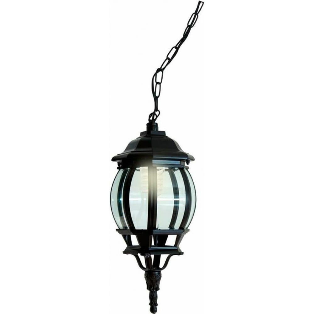 Купить Садово-парковый светильник feron 8105 100w 230v e27 160х160х400мм черный 11104