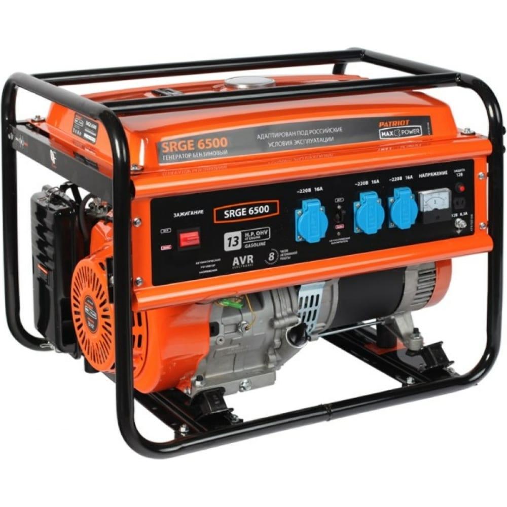 Купить Бензиновый генератор patriot max power srge 6500 474103166