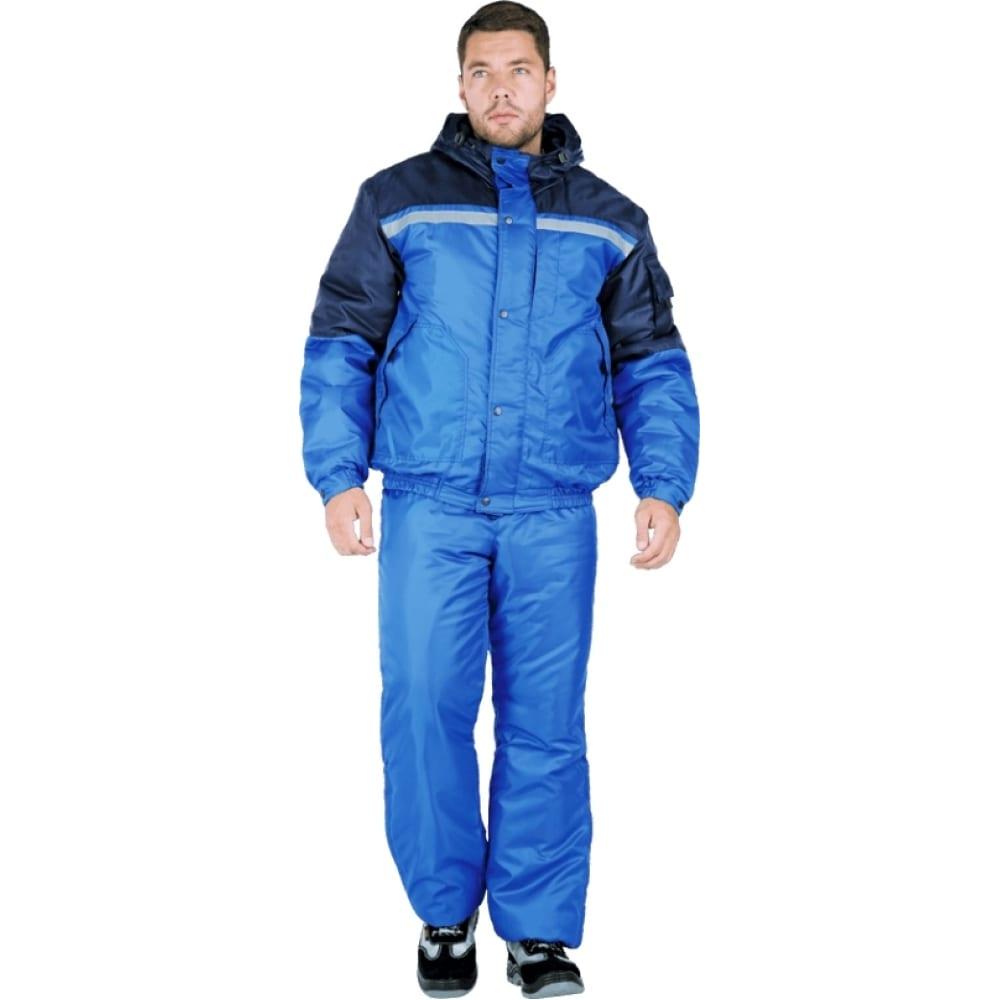 Утеплённый костюм гк спецобъединение стимул василёк/темно-синий, р.96-100, рост 170-176 кос 680/ 96/170Рабочие костюмы<br>Тип: мужской с полукомбинезоном ;<br>Ткань: оксфорд ;<br>Утеплитель: климафорт ;<br>Max температура: -18 °C;<br>Состав ткани: 100% полиэфир ;<br>Плотность ткани: 210 г/кв.м;<br>Размер: 48-50 ;<br>Рост: 170-176 см;<br>Пропитка: водоотталкивающая ;<br>Капюшон: есть ;<br>Тип застежки: молния ;<br>Цвет: василёк/темно-синий ;<br>ГОСТ\ТУ: ГОСТ Р 12.4.236-2011 ;<br>Вес: 1.9 кг;<br>Международный размер: M (48-50) ;<br>Сигнальный: нет ;<br>Светоотражающие элементы: есть ;<br>Единиц в упаковке: 1 шт.;<br>Защитные свойства: от пониженных температур воздуха ;