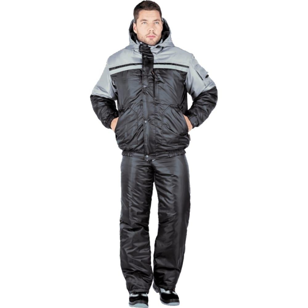 Утеплённый костюм гк спецобъединение стимул чёрный/серый, р.96-100, рост 170-176 кос 679/ 96/170Рабочие костюмы<br>Ткань: оксфорд ;<br>Утеплитель: климафорт ;<br>Max температура: -18 °C;<br>Состав ткани: 100% полиэфир ;<br>Плотность ткани: 210 г/кв.м;<br>Размер: 48-50 ;<br>Рост: 170-176 см;<br>Пропитка: водоотталкивающая ;<br>Капюшон: есть ;<br>Тип застежки: молния ;<br>Цвет: чёрный/серый ;<br>ГОСТ\ТУ: ГОСТ Р 12.4.236-2011 ;<br>Вес: 1.9 кг;<br>Международный размер: M (48-50) ;<br>Сигнальный: нет ;<br>Светоотражающие элементы: есть ;<br>Единиц в упаковке: 1 шт.;<br>Защитные свойства: от пониженных температур воздуха ;