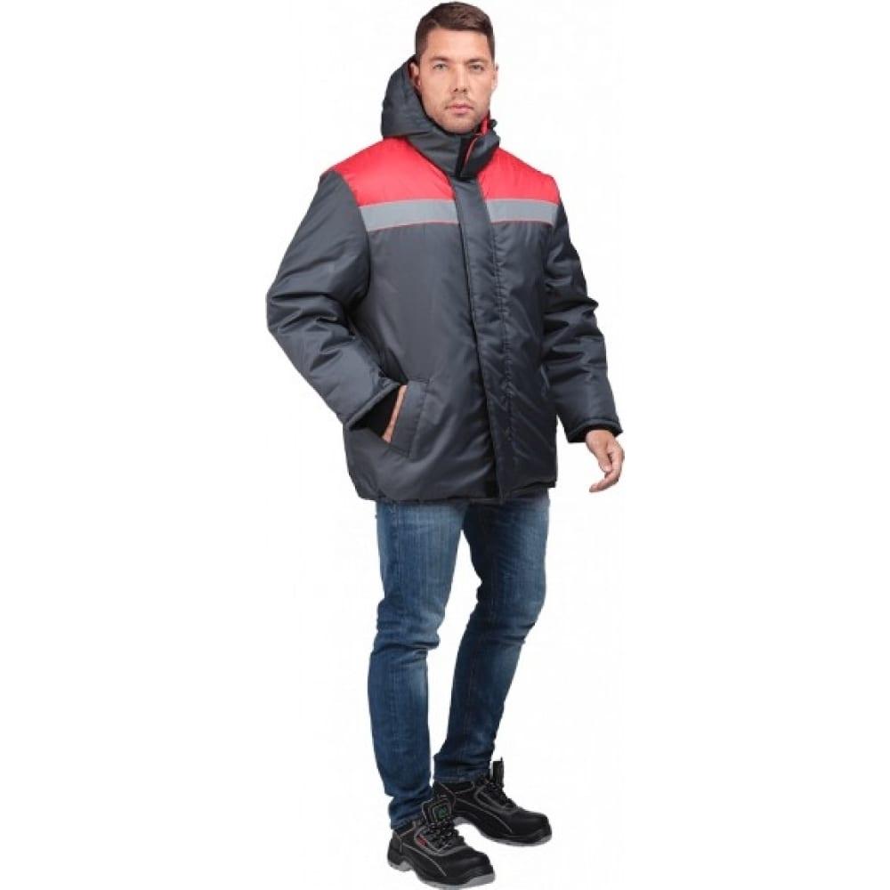 Утепленная куртка гк спецобъединение райт темно-серый/красный, размер 96-100, рост 170-176 кур 317/ 96/170Утепленные куртки<br>Вес: 1.2 кг;<br>Тип: мужская ;<br>Цвет: темно-серый/красный ;<br>Max температура: -18 °C;<br>Ткань: оксфорд ;<br>Состав ткани: 100% полиэфир ;<br>Плотность ткани: 210 г/кв.м;<br>Размер: 96-100 ;<br>Рост: 170-176 ;<br>Пропитка: водоотталкивающая ;<br>Капюшон: есть ;<br>Тип застежки: молния ;<br>ГОСТ\ТУ: ГОСТ Р 12.4.236-2011 ;<br>Единиц в упаковке: 1 шт.;<br>Защитные свойства: от пониженных температур ;<br>Утеплитель: синтепон ;<br>Международный размер: M (48-50) ;<br>Светоотражающие элементы: есть ;