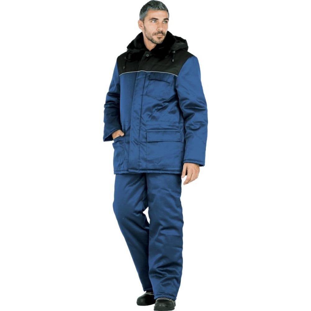 Утепленная куртка гк спецобъединение метель темно-синий, размер 112-116, рост 170-176 кур 305/112/170Утепленные куртки<br>Тип: мужская ;<br>Ткань: смесовая ;<br>Состав ткани: 20% хлопок, 80% полиэфир ;<br>Утеплитель: синтепон ;<br>Плотность ткани: 210 г/кв.м;<br>Max температура: -18 °C;<br>Размер: 112-116 ;<br>Рост: 170-176 ;<br>Пропитка: водоотталкивающая ;<br>Капюшон: есть ;<br>Тип застежки: пуговицы ;<br>ГОСТ\ТУ: ГОСТ Р 12.4.236-2011 ;<br>Вес: 1.5 кг;<br>Цвет: темно-синий ;<br>Международный размер: XXXL (56-58) ;<br>Светоотражающие элементы: есть ;<br>Единиц в упаковке: 1 шт.;<br>Защитные свойства: от пониженных температур ;