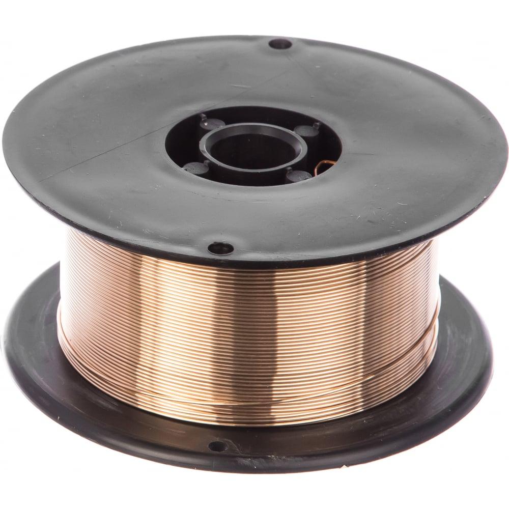 Проволока сварочная медно-кремниевая cusi3 (0.8 мм; 1 кг; d100) redhotdot mr08511