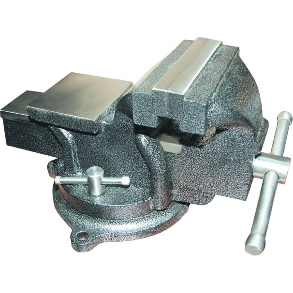 Купить Слесарные поворотные тиски 100 мм biber профи 85891 тов-090575