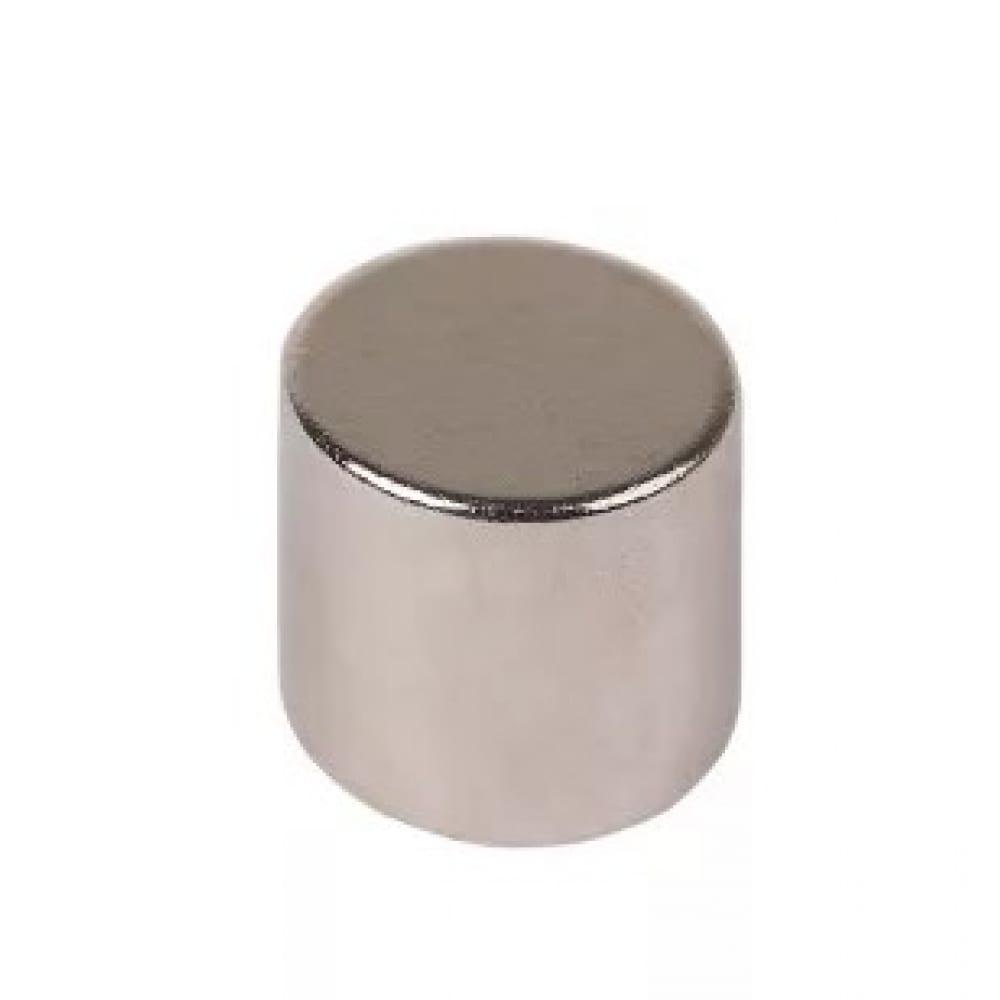 Неодимовый магнит диск 10х10мм сцепление 3.7