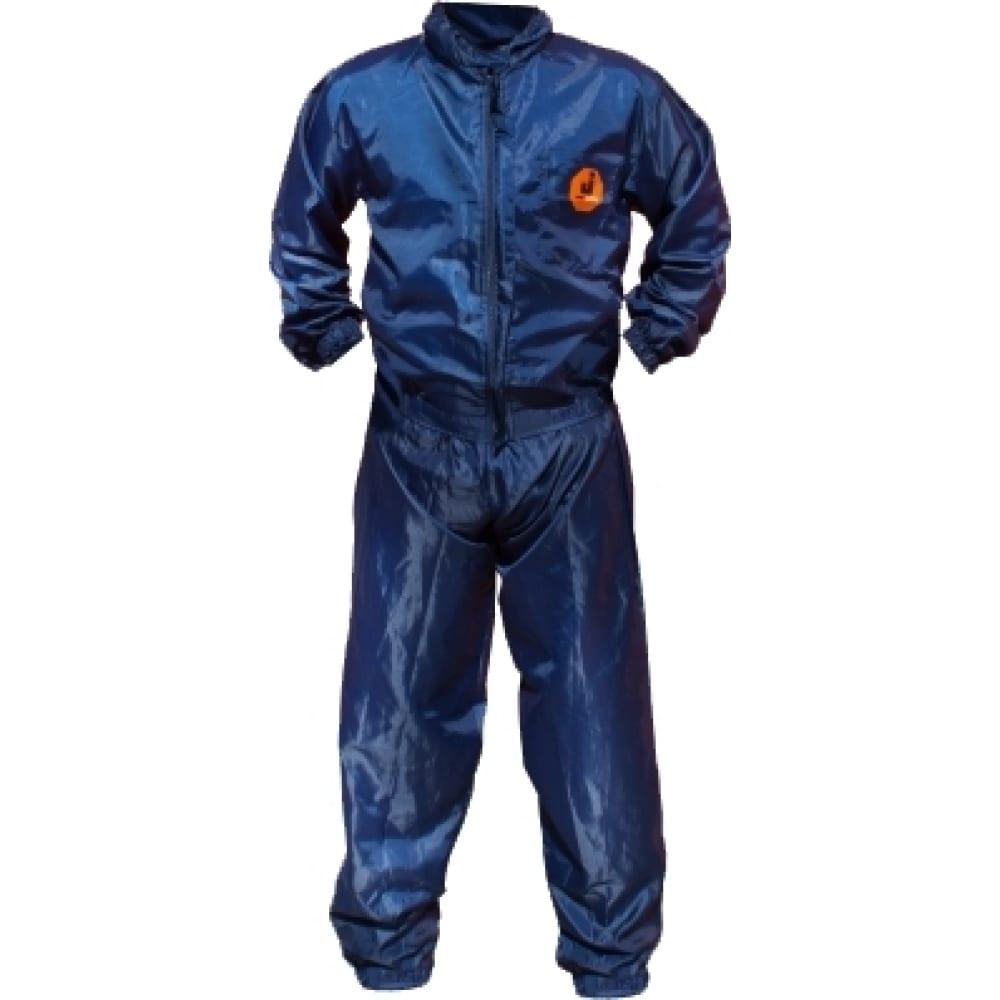 Малярный многоразовый комплект (куртка + брюки) jetasafety синий jpc76b/xl
