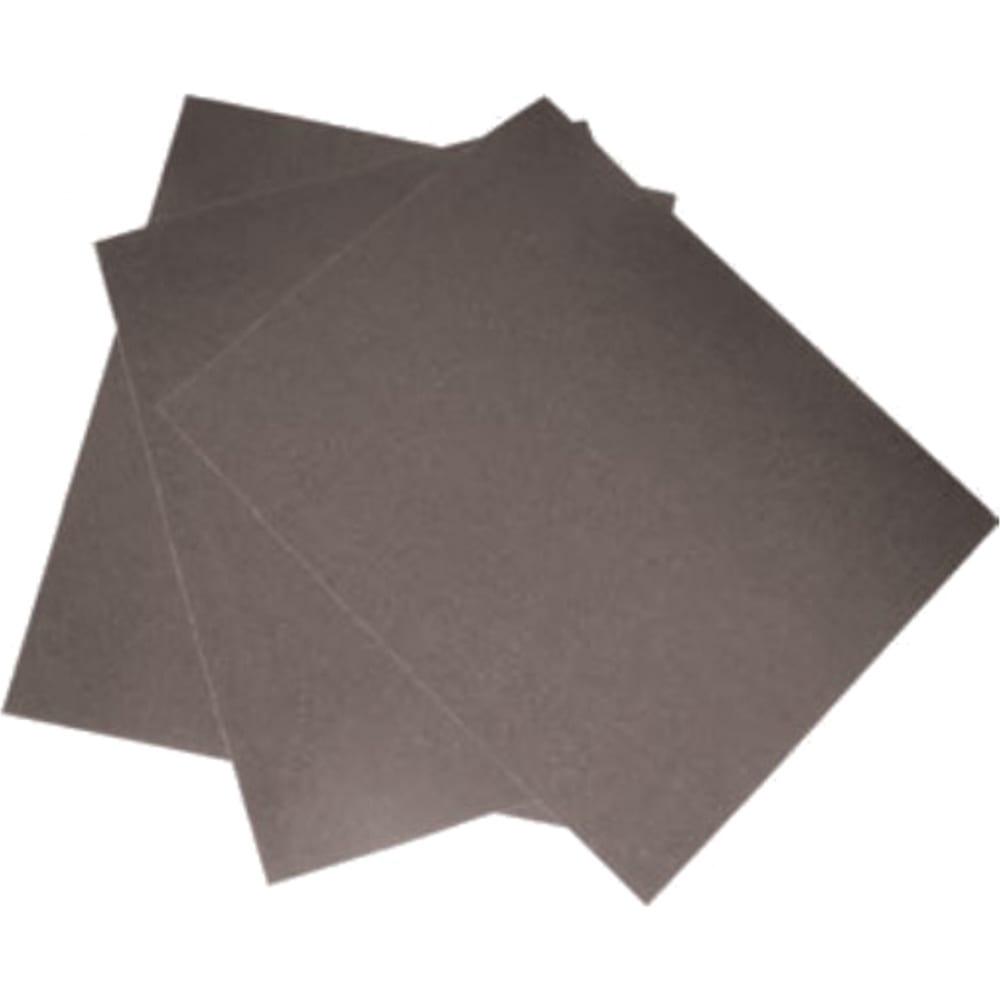 Шкурка шлифовальная на тканевой основе (10 пачек по 10 листов; 230х280 мм; р60) biber 70623 тов-080360