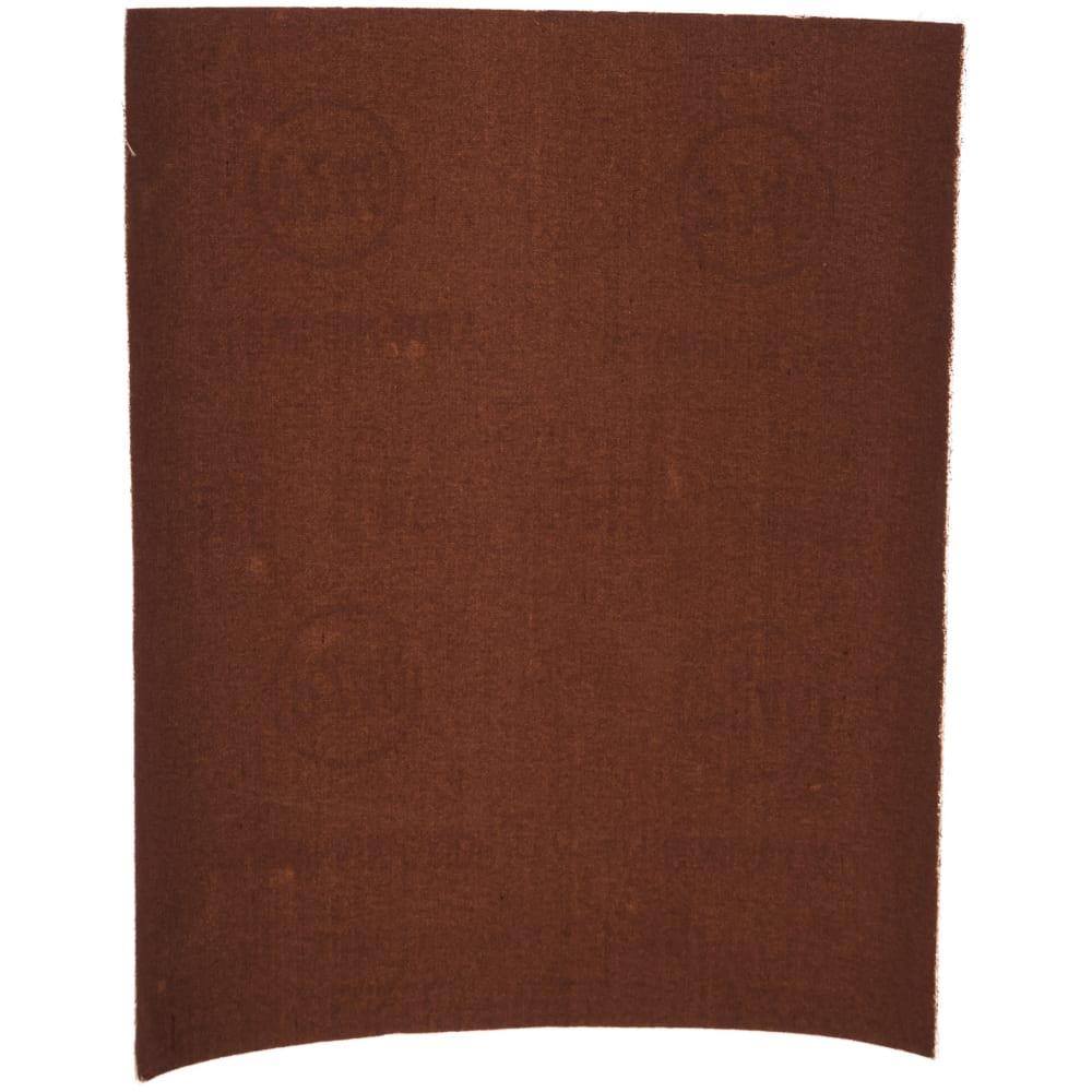 Шкурка шлифовальная на тканевой основе (10 пачек по 10 листов; 230х280 мм; р240) biber 70629 тов-165706