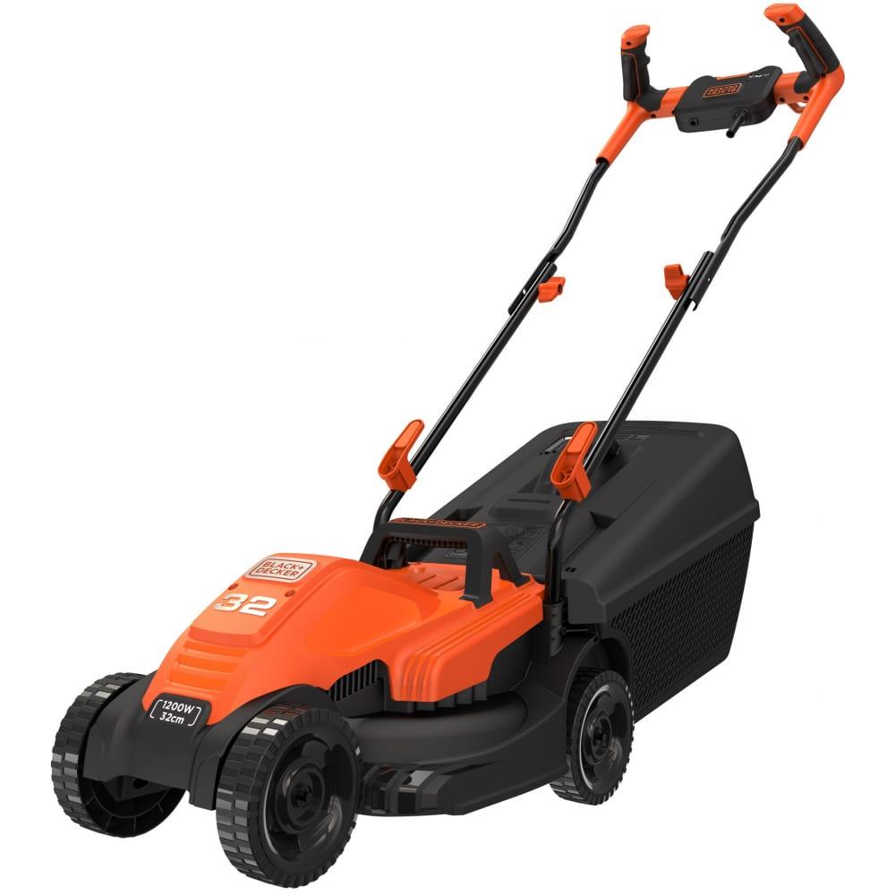 Купить Колесная электрическая газонокосилка black+decker bemw451bh