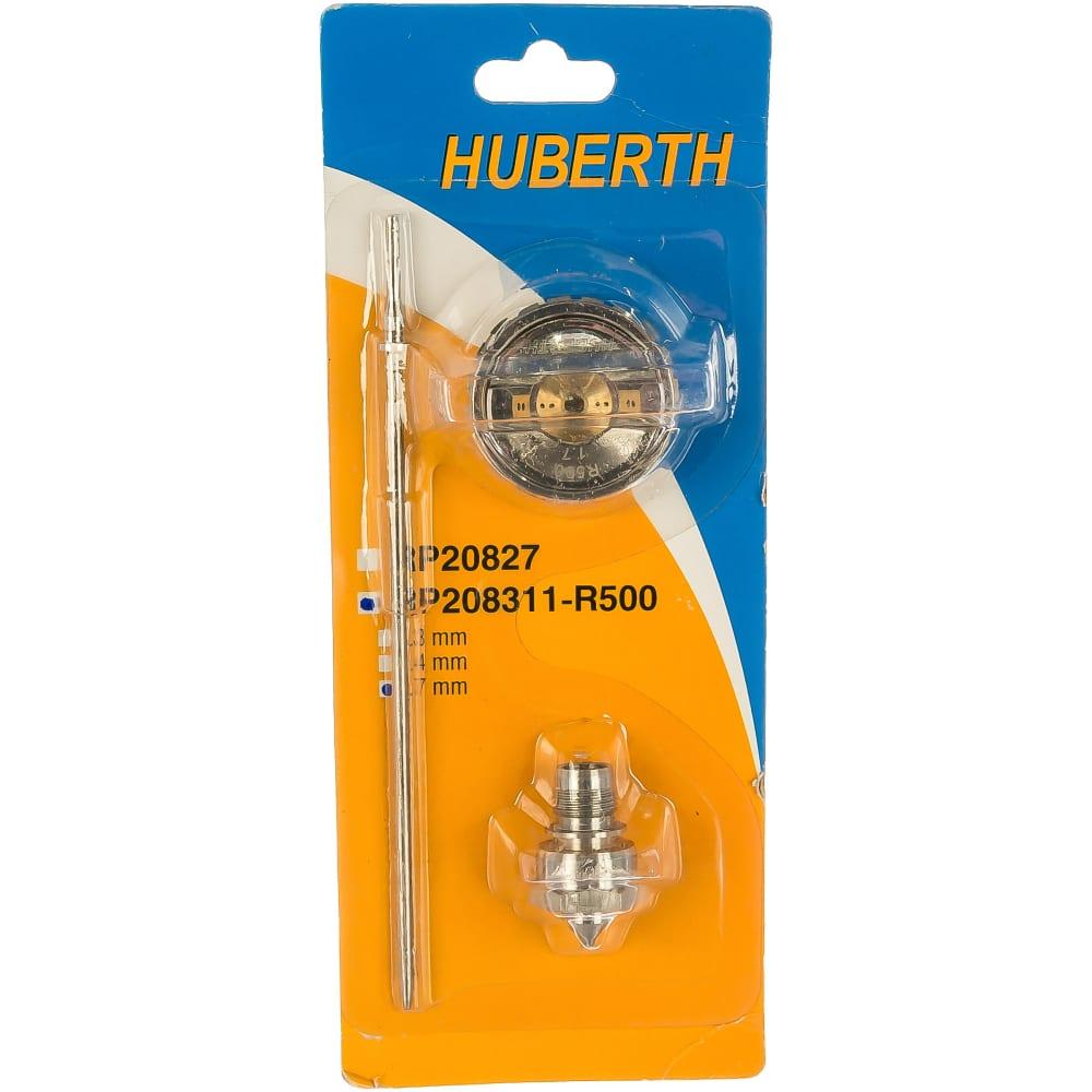 Купить Комплект сменный (1.7 мм дюза, воздушная головка, игла) для пистолета r500 huberth rp208311-r500 1.7