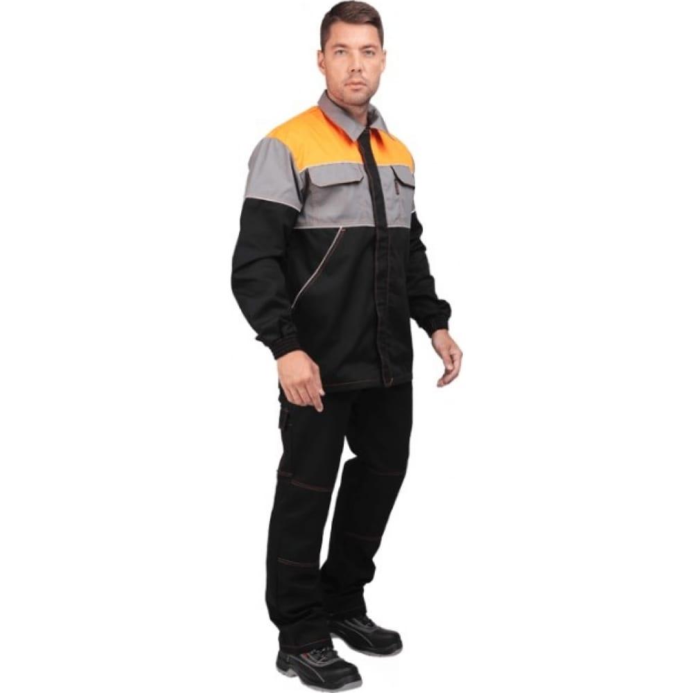 Костюм гк спецобъединение автосервис черный с серыми и оранжевыми вставками, р. 112-116, рост 170-176 кос 557/112/170Рабочие костюмы<br>Тип: мужской с полукомбинезоном ;<br>Цвет: черный/оранжевый/серый ;<br>Ткань: смесовая ;<br>Состав ткани: 35% хлопок, 65% полиэфир ;<br>Плотность ткани: 240 г/кв.м;<br>Размер: 56-58 (рост 170-176) ;<br>Рост: 170-176 см;<br>Пропитка: масло-водоотталкивающая ;<br>Световозвращающая полоса: нет ;<br>Капюшон: нет ;<br>Тип застежки: молния ;<br>ГОСТ\ТУ: ГОСТ 12.4.280-2014 ;<br>Единиц в упаковке: 1 шт;<br>Вес модели: 1.4 кг;<br>Защитные свойства: от общих загрязнений, от истирания ;<br>Международный размер: XXXL (56-58) ;<br>Сигнальный: нет ;
