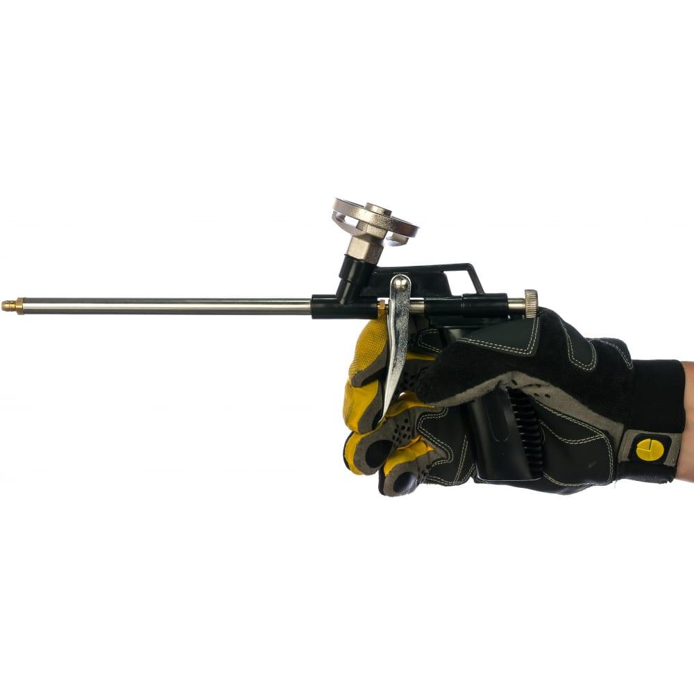 Пистолет для монтажной пены энкор 56356  - купить со скидкой