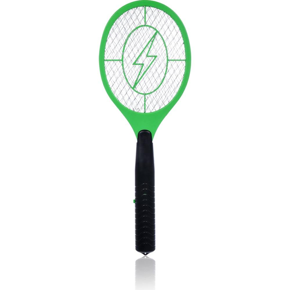 Электрическая мухобойка на батарейках 21х50 см help 80400  - купить со скидкой