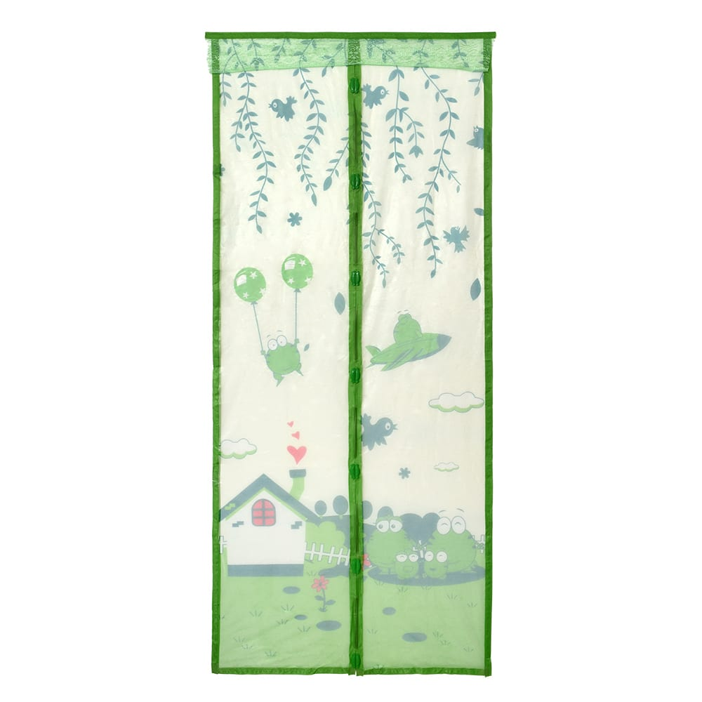 Купить Противомоскитная сетка-штора на дверь с рисунком, магнитами и крепежом, 45х210 см, 2шт help 80006