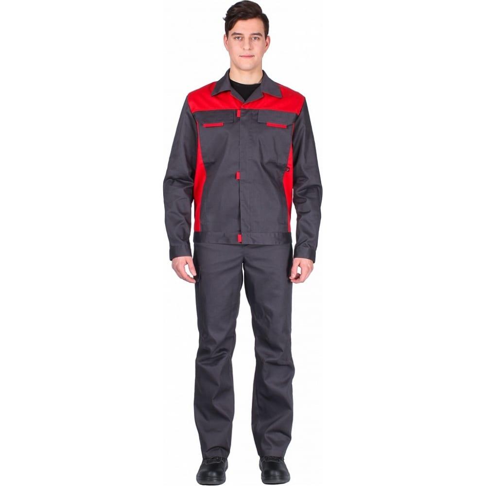 Костюм факел идеал new темно-серый/красный, размер 48-50, рост 182-188 87468315.004Рабочие костюмы<br>Тип: мужской брючный ;<br>Цвет: темно-серый/красный ;<br>Ткань: Балтекс 1 ;<br>Состав ткани: 65% - полиэстер, 35% -хлопок ;<br>Плотность ткани: 210 г/кв.м;<br>Размер: 48-50 ;<br>Рост: 182-188 см;<br>Пропитка: водоотталкивающая ;<br>Световозвращающая полоса: нет ;<br>Капюшон: нет ;<br>Тип застежки: молния ;<br>ГОСТ\ТУ: ГОСТ 12.4.280-2014 ;<br>Единиц в упаковке: 1 шт.;<br>Защитные свойства: защита от общих производственных загрязнений,  защита от истирания ;<br>Международный размер: M (48-50) ;<br>Сигнальный: нет ;