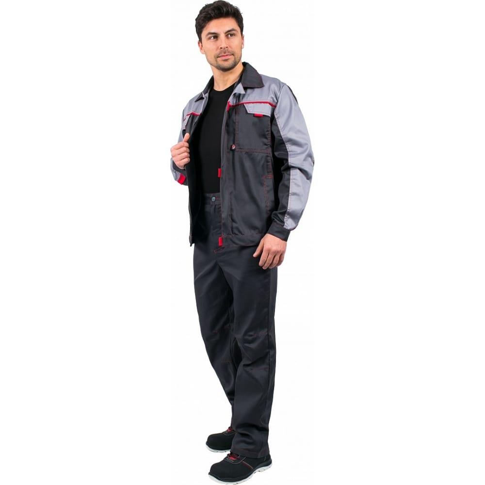 Костюм факел фаворит-1 new темно-серый/светло-серый, размер 44-46, рост 182-188 87468311.002Рабочие костюмы<br>Тип: мужской брючный ;<br>Цвет: темно-серый/светло-серый ;<br>Ткань: Балтекс 1 ;<br>Состав ткани: 65% - полиэстер, 35% -хлопок ;<br>Плотность ткани: 210 г/кв.м;<br>Размер: 44-46 ;<br>Рост: 182-188 см;<br>Пропитка: водоотталкивающая ;<br>Световозвращающая полоса: нет ;<br>Капюшон: нет ;<br>Тип застежки: молния ;<br>ГОСТ\ТУ: ГОСТ 12.4.280-2014 ;<br>Единиц в упаковке: 1 шт.;<br>Защитные свойства: защита от общих производственных загрязнений,  защита от истирания ;<br>Международный размер: S (46-48) ;<br>Сигнальный: нет ;