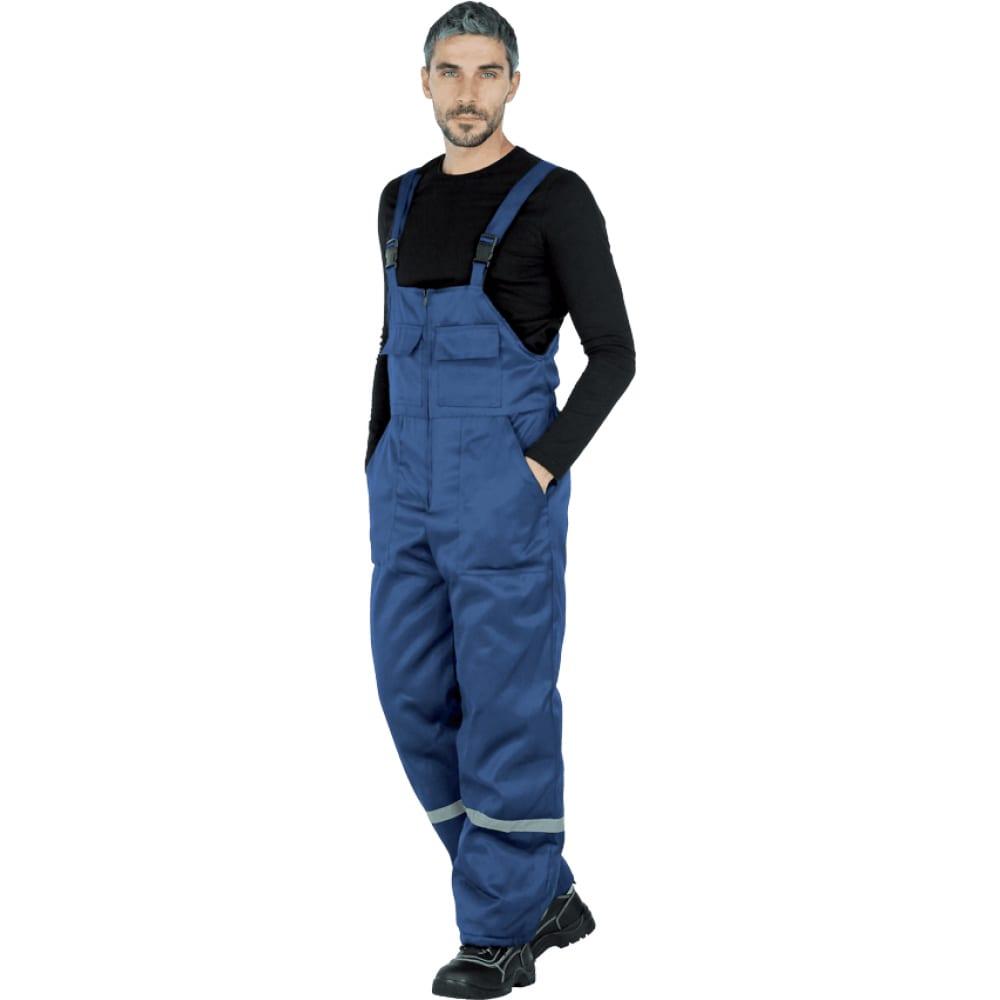 Утеплённый полукомбинезон гк спецобъединение винтер темно-синий, р. 112-116, рост 182-188 ком 002/112/182Рабочие комбинезоны и брюки<br>Тип: мужской полукомбинезон ;<br>Ткань: смесовая ;<br>Состав ткани: 20% хлопок, 80% полиэфир ;<br>Max температура: -18 °C;<br>Плотность ткани: 210 г/кв.м;<br>Утеплитель: синтепон ;<br>Размер: 56-58 ;<br>Рост: 182-188 см;<br>Защитные свойства: от пониженных температур ;<br>Пропитка: водоотталкивающая ;<br>Световозвращающая полоса: есть ;<br>Тип застежки: молния ;<br>Цвет: темно-синий ;<br>ГОСТ\ТУ: ГОСТ Р 12.4.236-2011 ;<br>Вес: 1 кг;<br>Международный размер: XXXL (56-58) ;<br>Единиц в упаковке: 1 шт.;