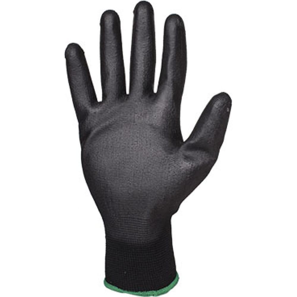 Защитные перчатки с полиуретановым покрытием jetasafety (12 пар) jp011b/xlСо сплошным полимерным покрытием<br>Вес: 0.032 кг;<br>Материал: полиэфир, полиуретан ;<br>Тип: общего назначения ;<br>Назначение: технические ;<br>Размер: XL ;