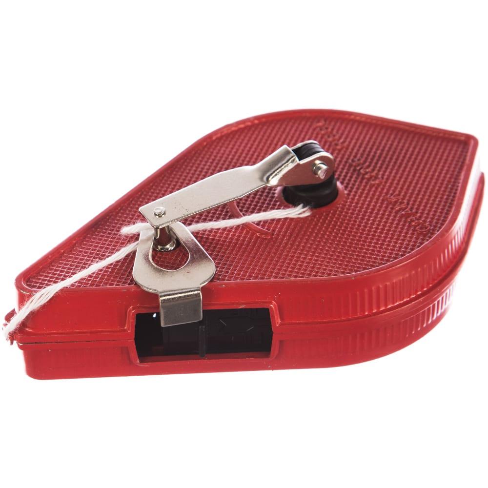 Разметочный шнур в металлическиом корпусе, 15 м top tools 30c615