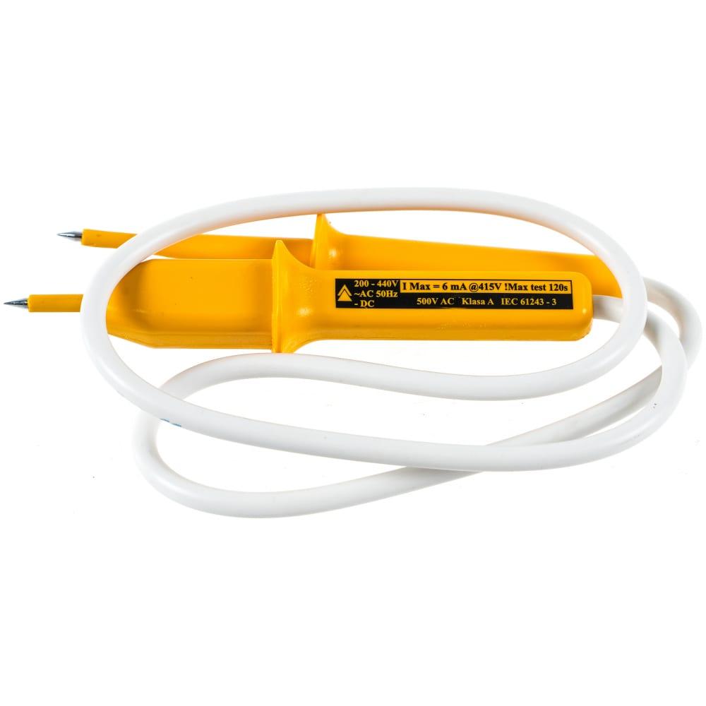 Двухполюсный индикатор напряжения, 750 мм, 220 - 400 в topex 39d070