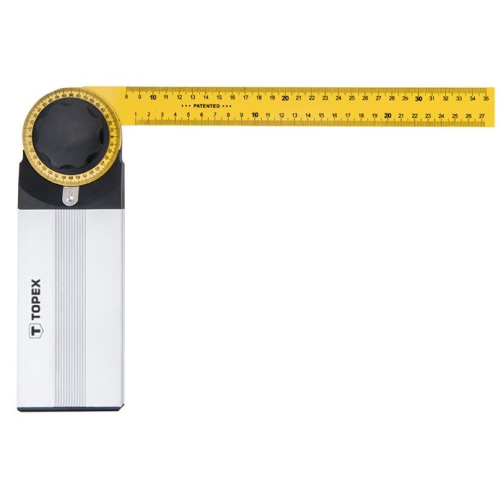 Разводной угломер topex 350x210 мм 30c343