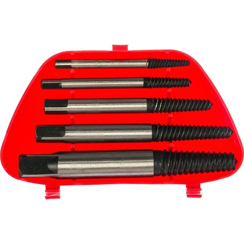 Набор экстракторов (3.3-19 мм, 5 штук) top tools 14a105