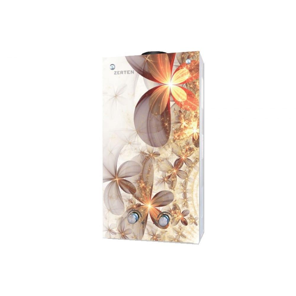 Газовый проточный водонагреватель zerten в-20 4670004377819