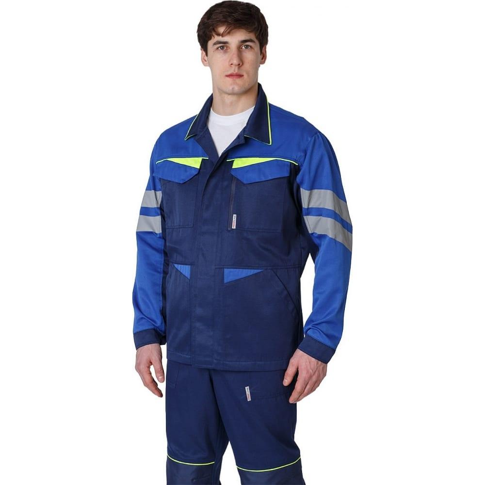 Мужская удлиненная куртка факел profline base темно-синий/васильковый, р. 44-46, рост 170-176 87468764.001Куртки<br>Тип: мужская ;<br>Цвет: темно-синий/васильковый  ;<br>Ткань: смесовая ;<br>Плотность ткани: 210 г/кв.м;<br>Размер: 44-46 (рост 170-176) ;<br>Рост: 170-176 см;<br>Пропитка: водоотталкивающая ;<br>Световозвращающая полоса: есть ;<br>Капюшон: нет ;<br>Тип застежки: пуговицы ;<br>ГОСТ\ТУ: ГОСТ 12.4.280-2014 ;<br>Единиц в упаковке: 1 шт.;<br>Защитные свойства: от общих загрязнений, от истирания ;<br>Международный размер: XS (44-46) ;
