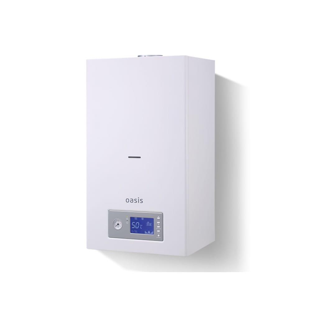 Газовый настенный котел oasis bm-16 битермический 4640015383864