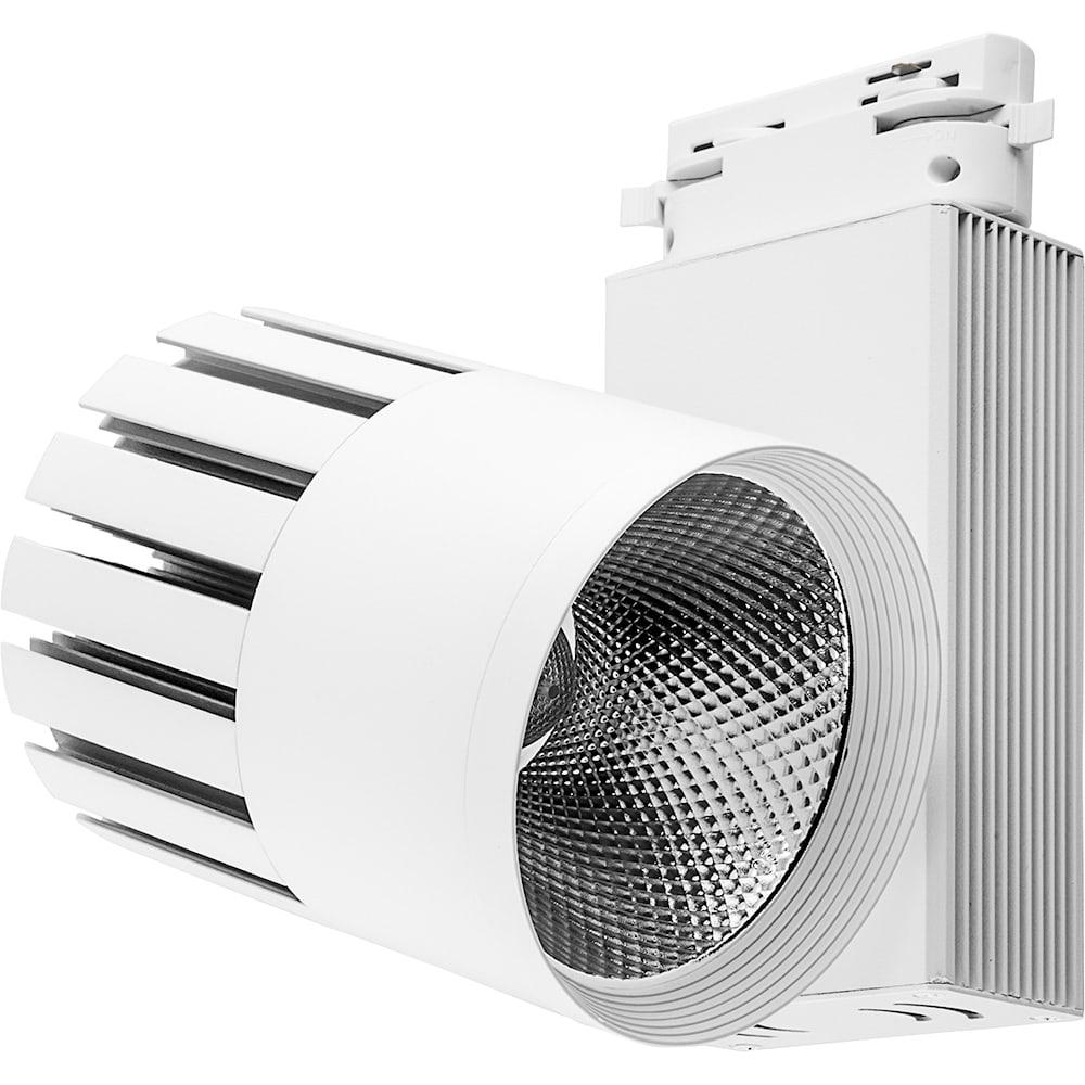Купить Светодиодный трековый светильник на шинопровод feron al105 20w, 1800 lm, 4000к, 35 градусов, белый 29691