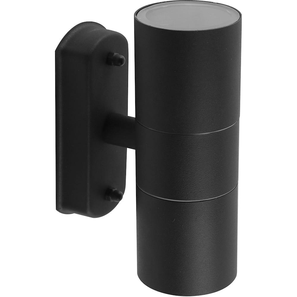 Купить Садово-парковый светильник feron dh0704 230v без лампы 2хgu10, 60х163х103 мм, черный 11881
