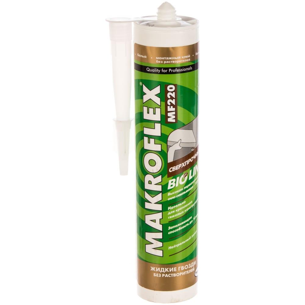 Купить Сверхпрочный клей makroflex bio line mf220 400 гр б0023026